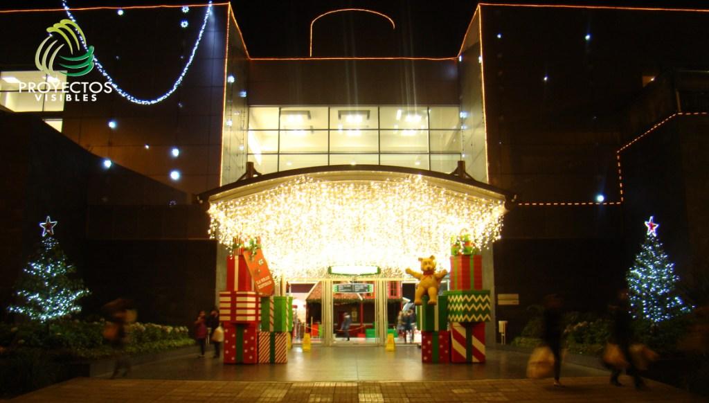 Cielo de luz diseñado con cortinas led