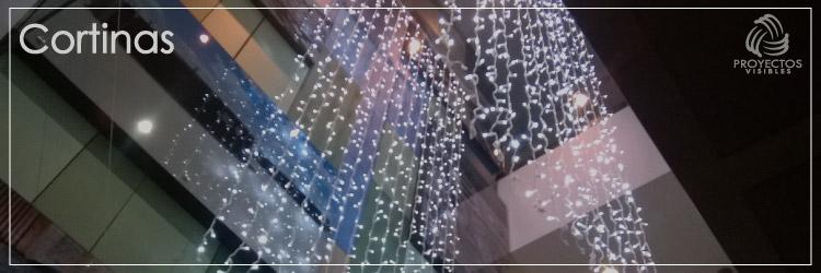 Alquiler de cortinas de Navidad