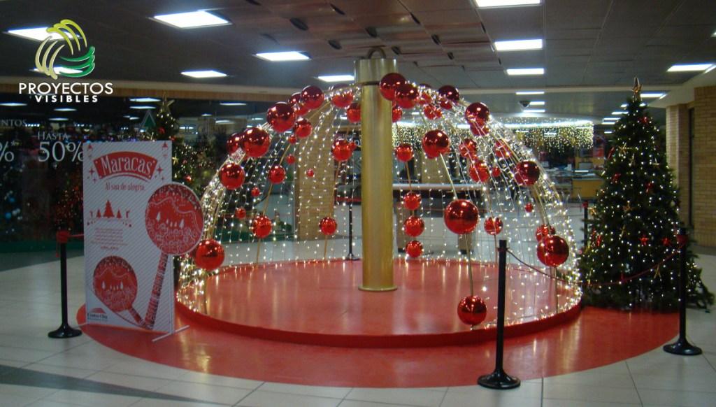 Escenarios maracas de navidad