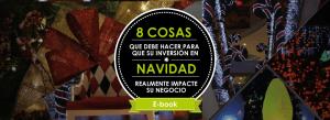 Inversión en decoración navidad en centros comerciales