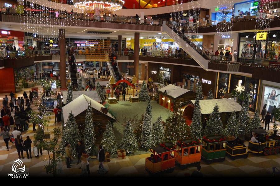 Iluminación y decoración de navidad Fontanar