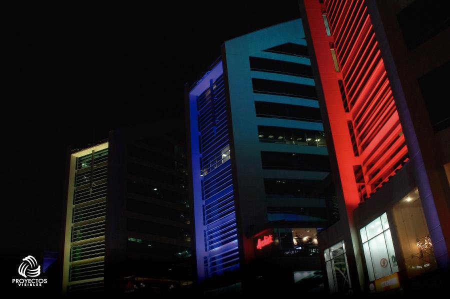 Iluminación LED Arquitectónica edificios
