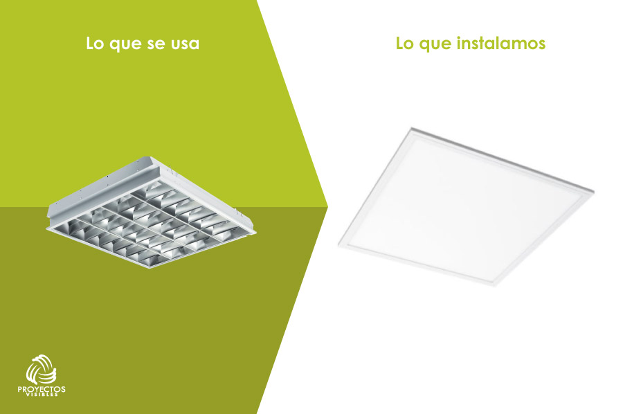 panel led rectangular, productos de Iluminación LED