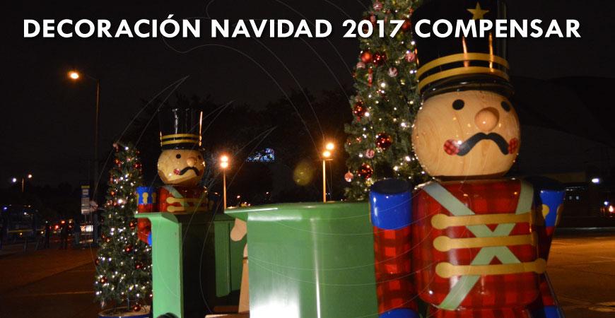 Navidad 2017 Compensar, iluminación y decoración