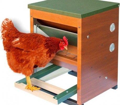 Tolva mecànica per a Gallines - Anti-Ocells i Anti-Rosegadors