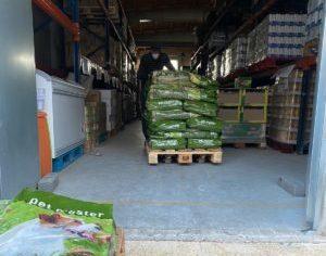 Emergència covid-19: Donació de 500 kg de pinso