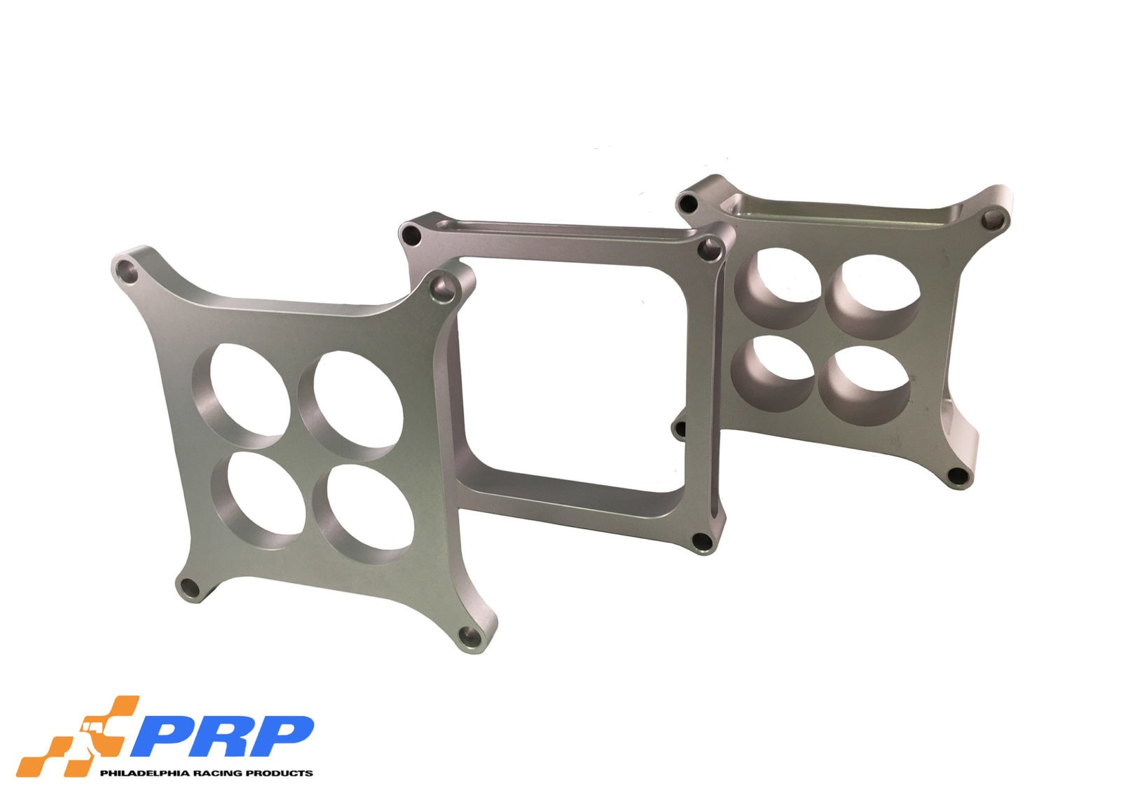 Clear Carburetor Spacer Plates made by PRP Racing Products