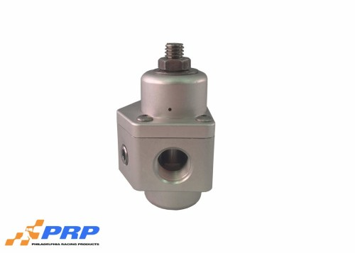 Clear Fuel Pressure Regulator made by PRP Racing Products Main Picture Side view