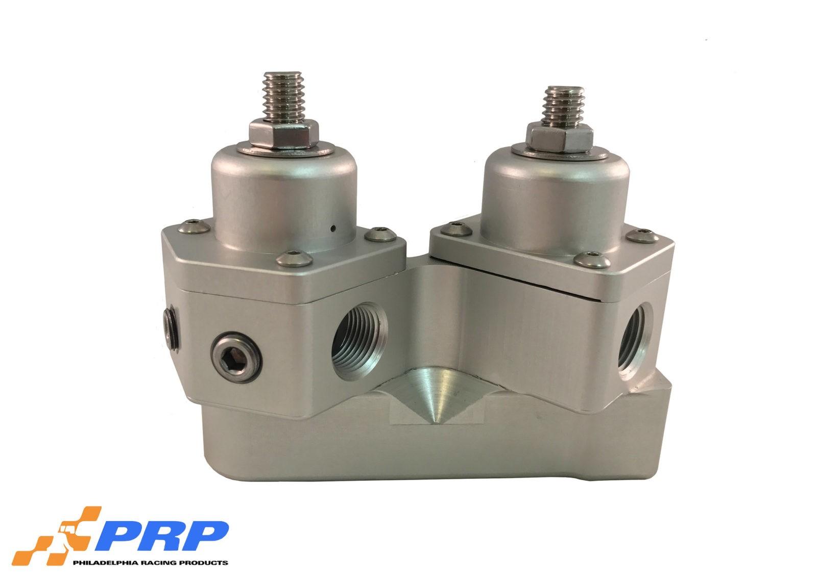 """PRP 3008 Billet Fuel Pressure Regulator Carb 2 Port 1//2/"""" NPT Alcohol Made in USA"""