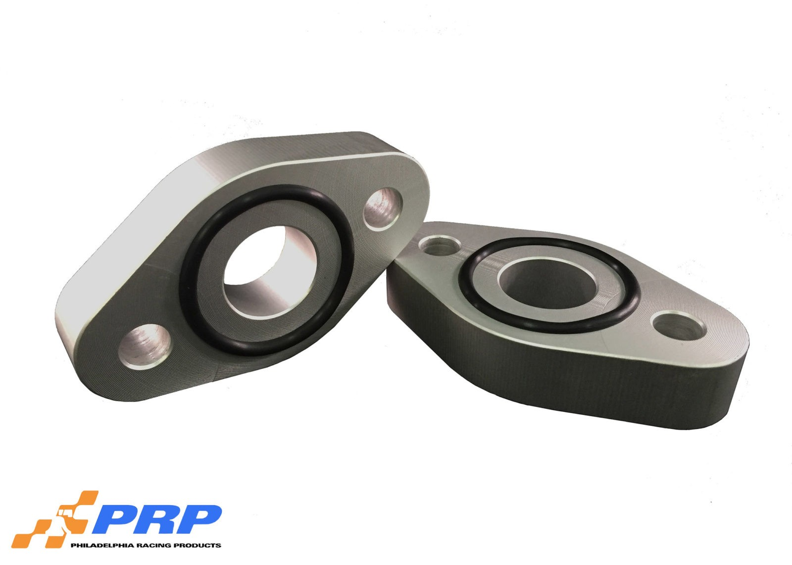 "Clear BBC 3/4"" water pump spacer made by PRP Racing Products"