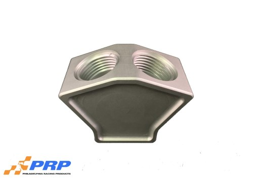 Clear 2 to 1 Y-Block Kit made by PRP Racing Products