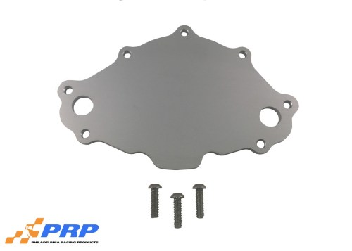 Clear Billet Small Block Ford Backing Plate made by PRP Racing Products