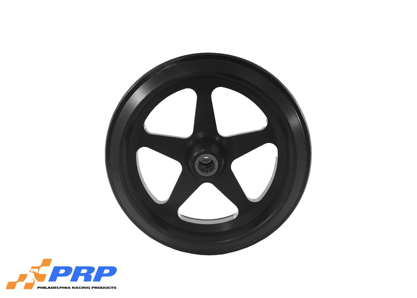 Black Anodized Star Style with Bearing made by PRP Racing Products