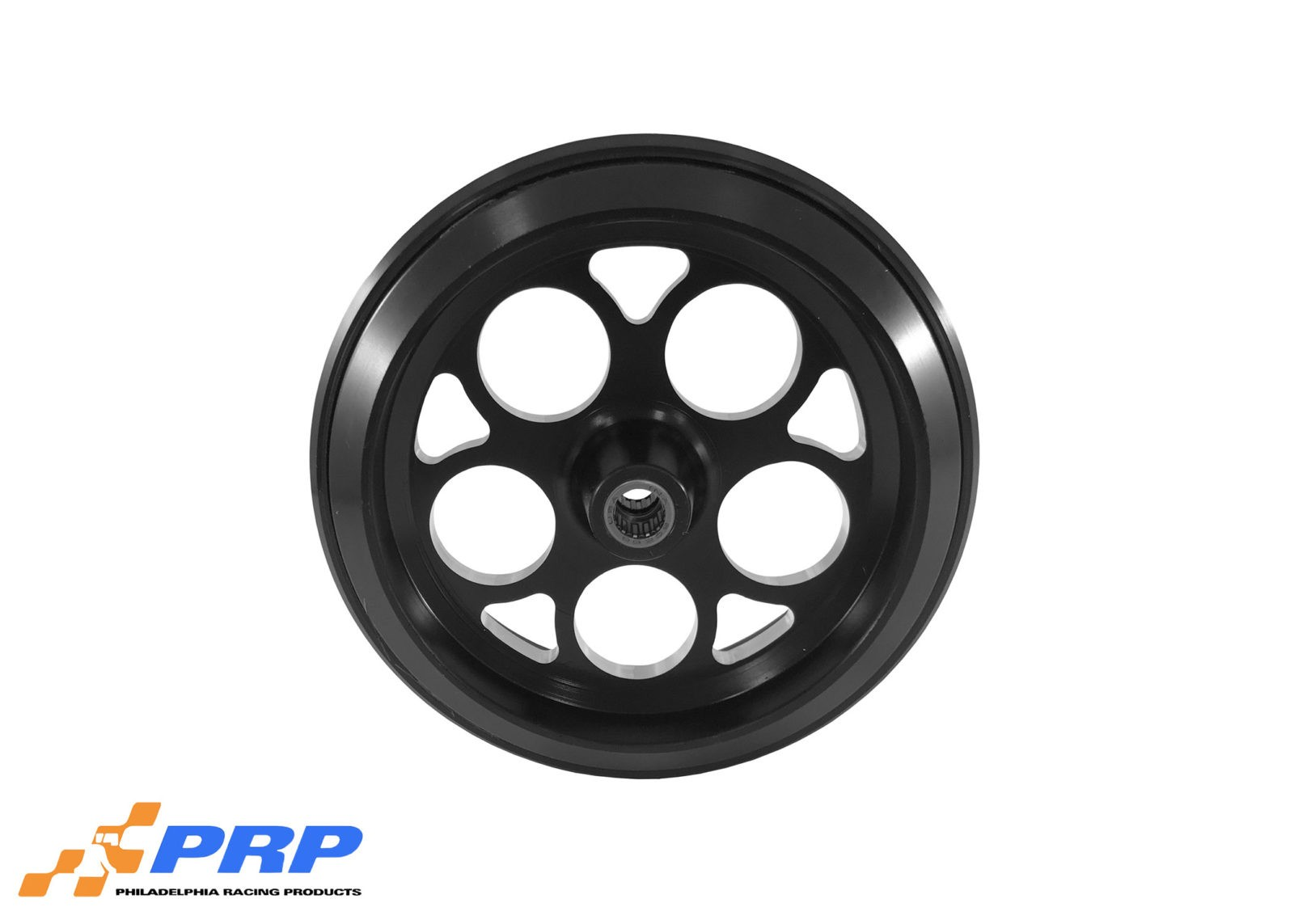 Black Anodized Hole Style with Bearing made by PRP Racing Products