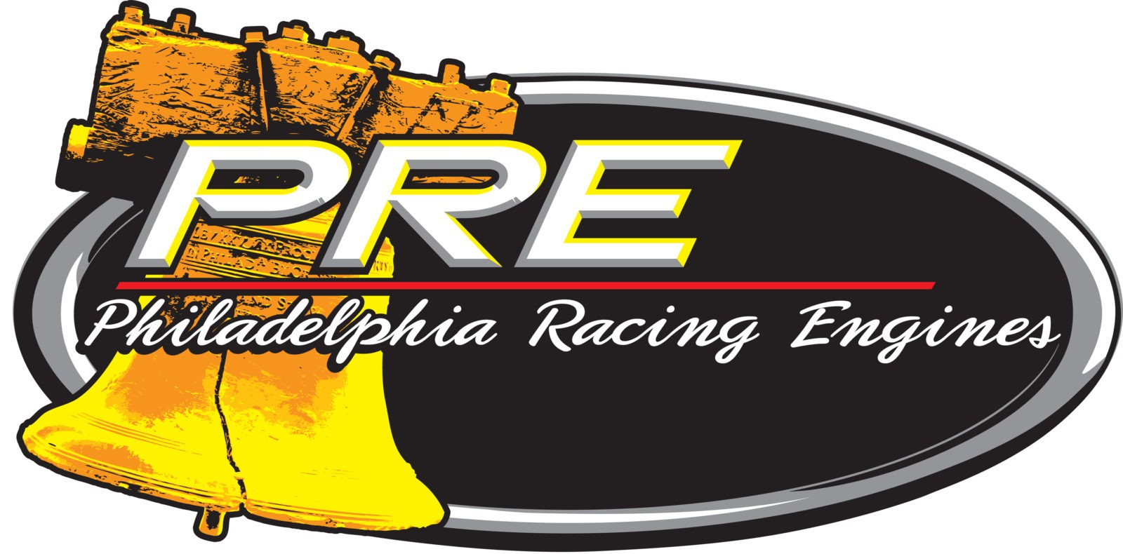PRE Engine Shop Service Logo, a subsidiary of PRP Racing Products