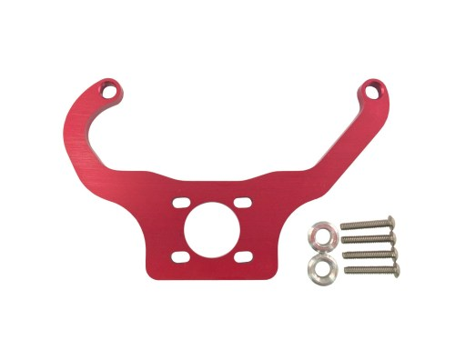 Red Fuel Pressure Regulator Mounting Brackets Holley Quickfuel made by PRP Racing Products