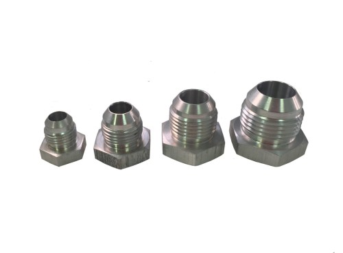 AN Aluminum Weld Bungs made by PRP Racing Products
