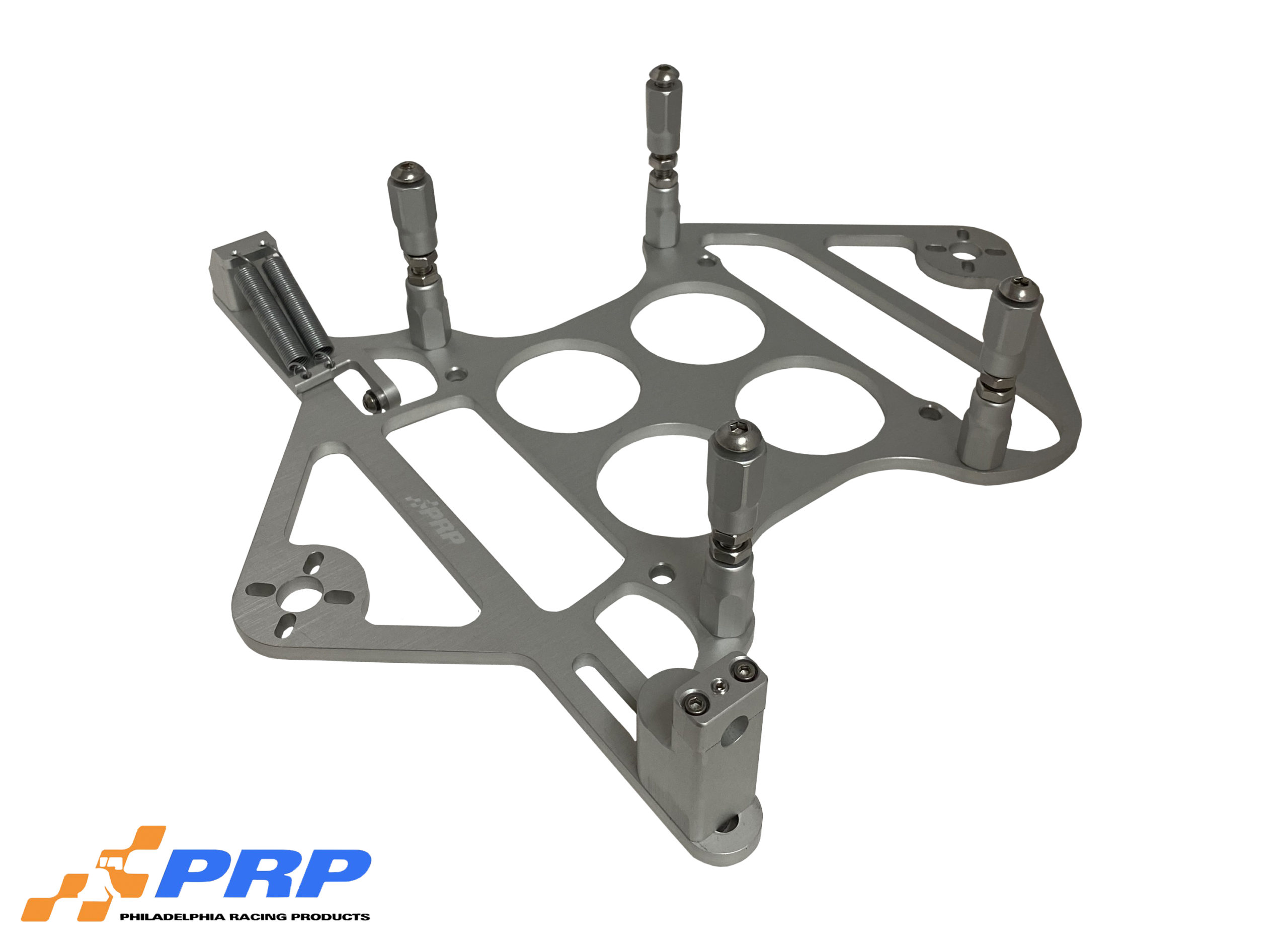 Silver 4500 Scoop Mounting Bracket With Nitrous Mount