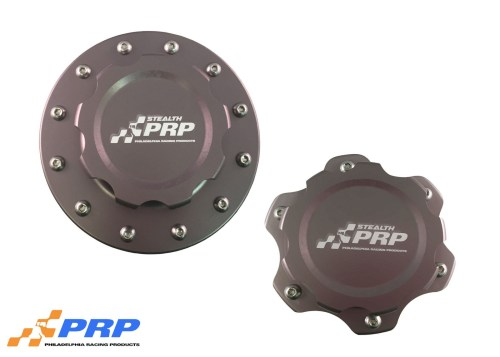Stealth Fuel Cell Caps made by PRP Racing Products