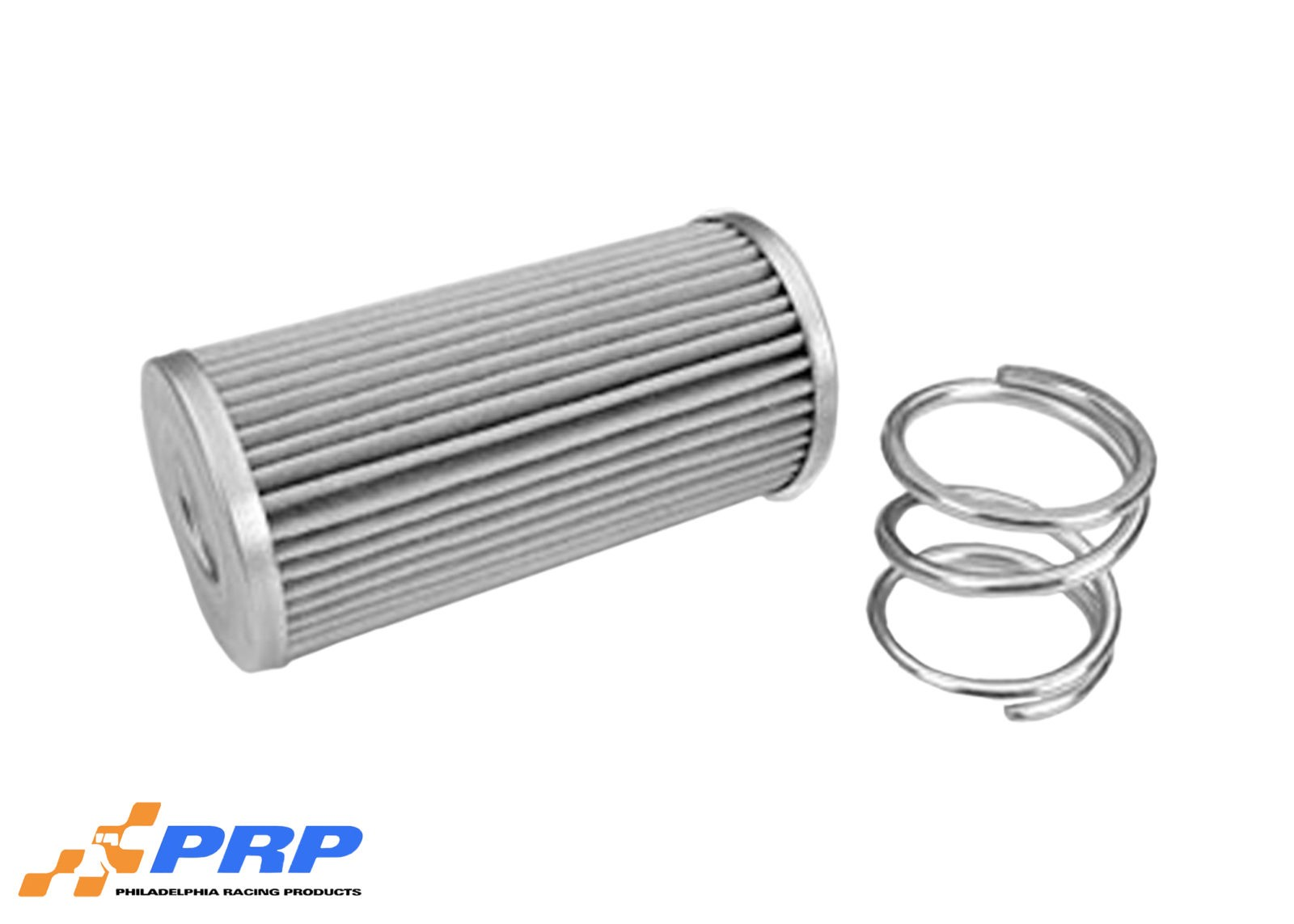 Silver Inline Oil Filter Made by PRP Racing Products