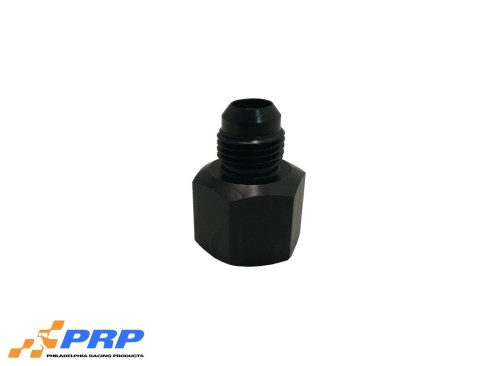 Black 8AN Female to 6AN Male Reducer by PRP Racing Products