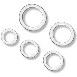 Earls Aluminum Crush Washers