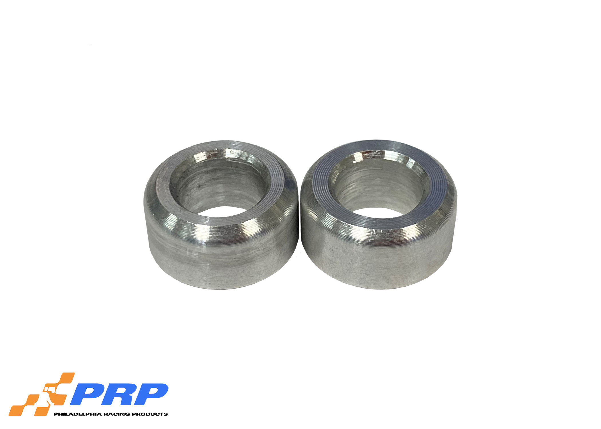 Two Clear Dominator Spacers made by PRP Racing Products