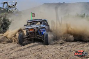 Adrian Orellana on his way to a second place finish in the Baja 500