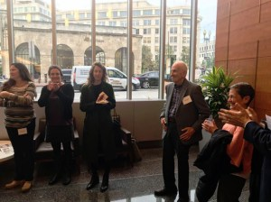 """Award Ceremony. Alexander Polikoff, """"Father of Mobility,"""" lead counsel on historic Gautreaux case, honored for being an early proponent of housing mobility."""