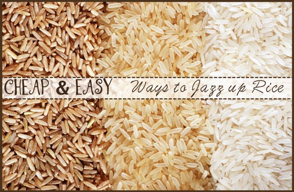 ways to make rice less boring
