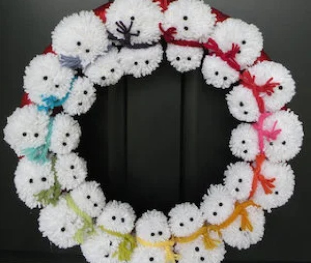 Foam Wreath Tinsel Garland U Shaped Pins