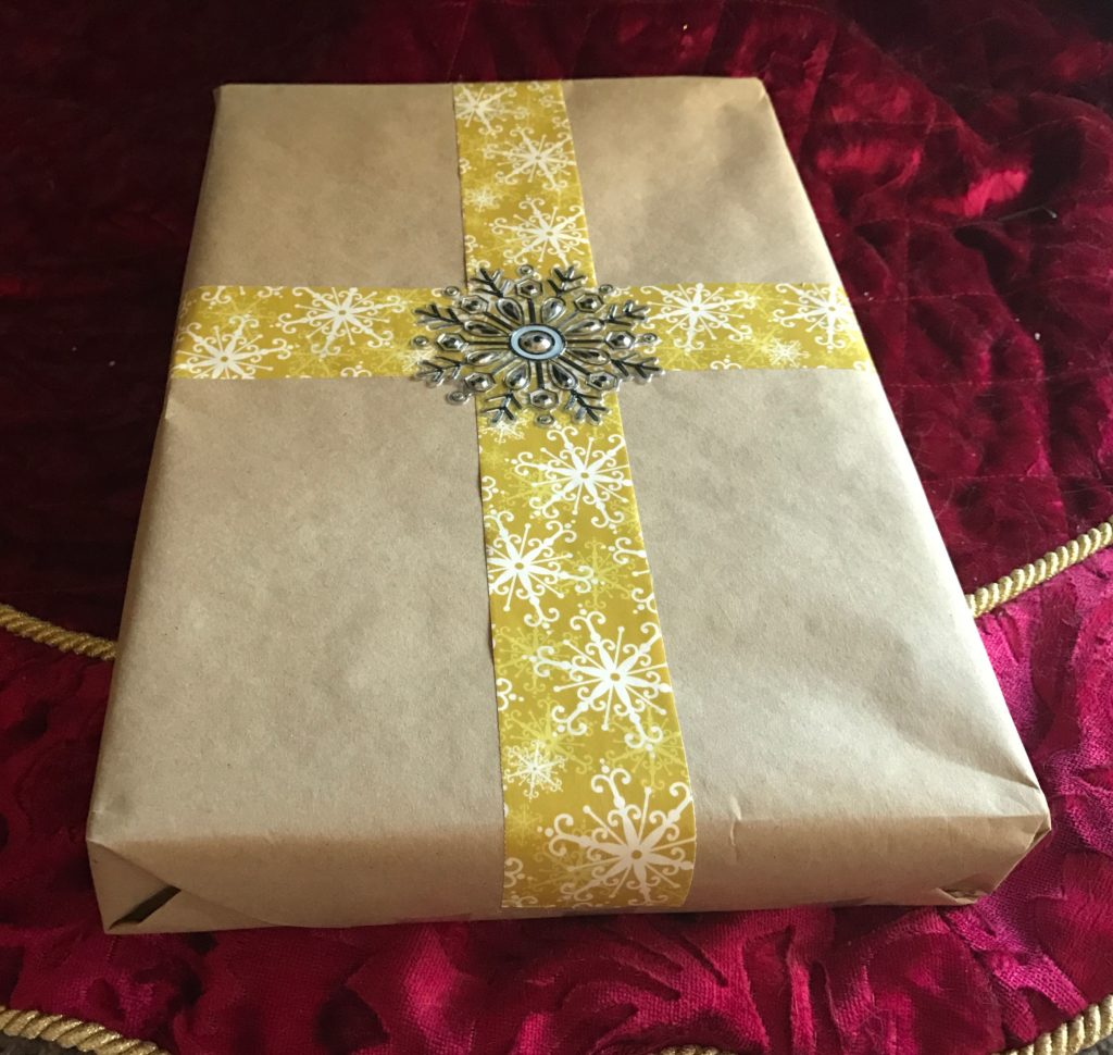 Brown Paper Christmas Gift Wrapping Ideas Prudent Penny