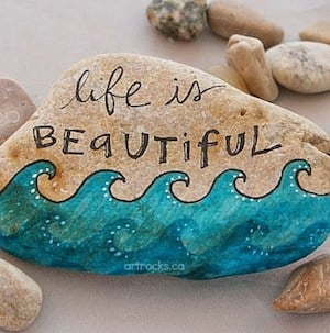 Best 43 Inspiration Creative Diy Painted Word Rocks Ideas