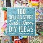 100 Dollar Store Diy Easter Decorations Prudent Penny Pincher
