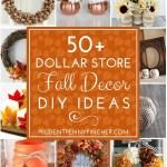 100 Dollar Store Fall Decor Ideas Prudent Penny Pincher