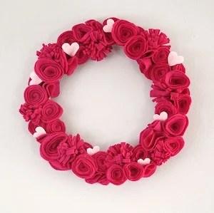 75 Best DIY Valentines Day Wreaths Prudent Penny Pincher