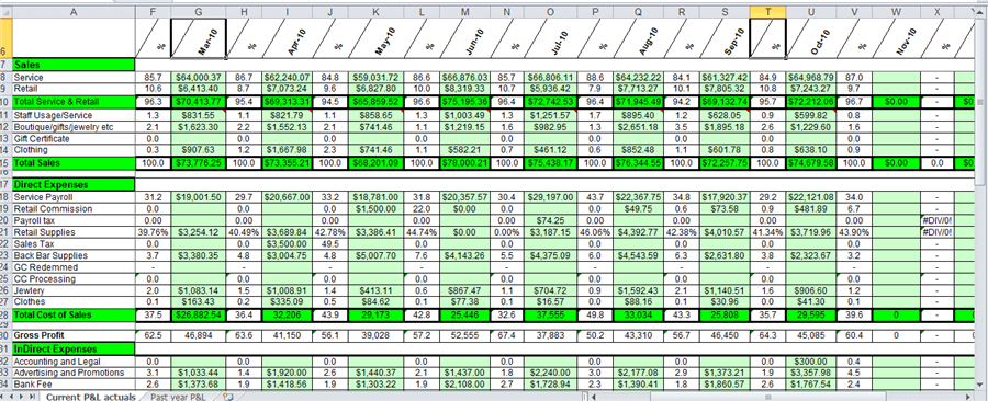 daily income and expense excel sheet sample 1