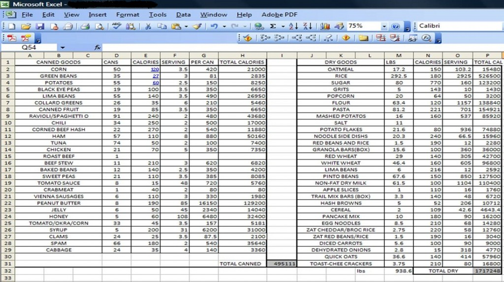 excel inventory template with formulas sample 1