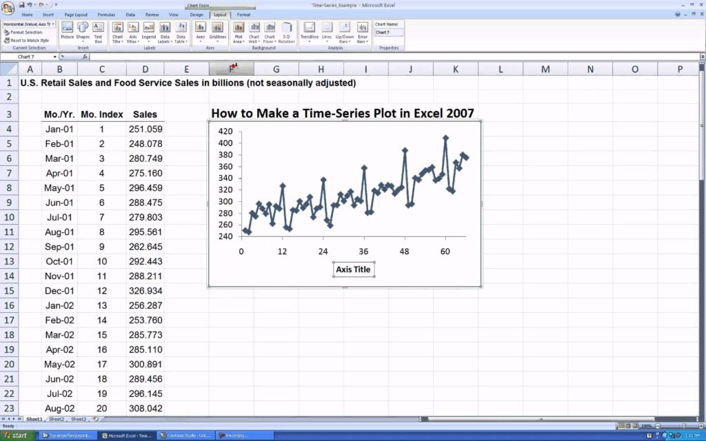 how to make financial projections sample 1