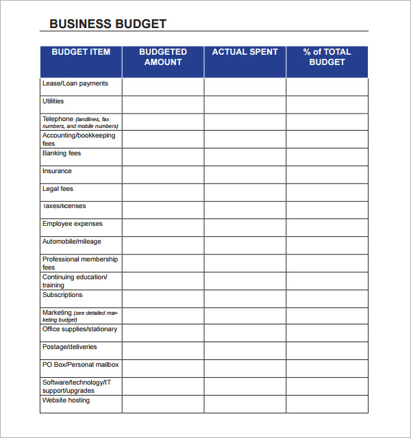 excel monthly budget template 2