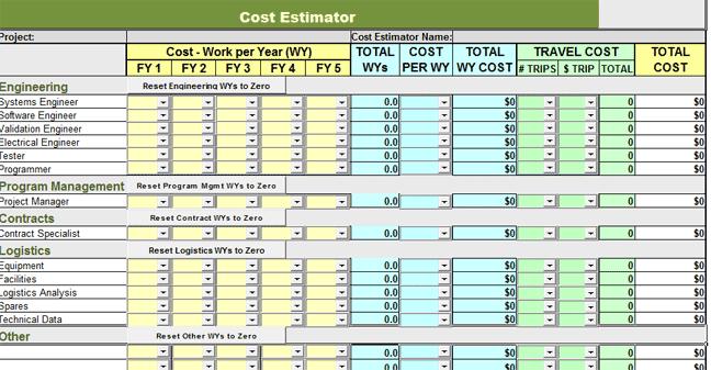 free estimate template pdf sample
