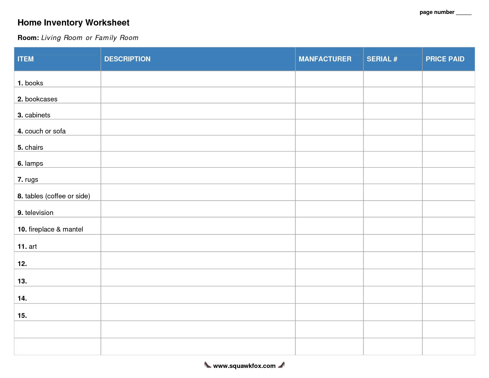 printable blank excel spreadsheet templates