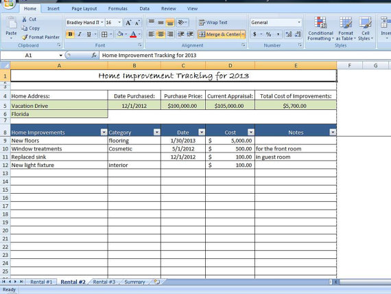 tenant rent tracking spreadsheet