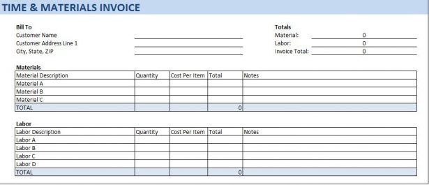 contract register excel template