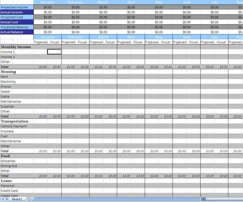 Excel Spreadsheet for Small Business Income and Expenses and Excel Spreadsheet for Monthly Business Expenses
