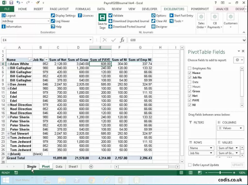 How to Make an Excel Spreadsheet for Payroll and Sample Excel Spreadsheet for Payroll