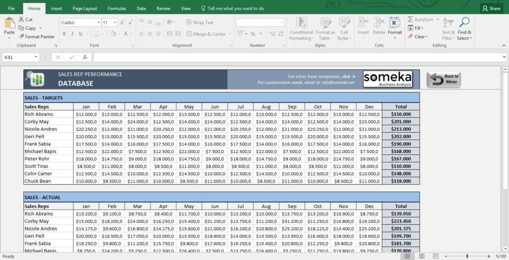 Sales Call Tracking Spreadsheet and Daily Sales Tracking Spreadsheet
