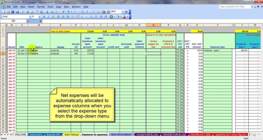 Small Business Accounting Spreadsheet Template Free and Microsoft Excel Accounting Templates Download