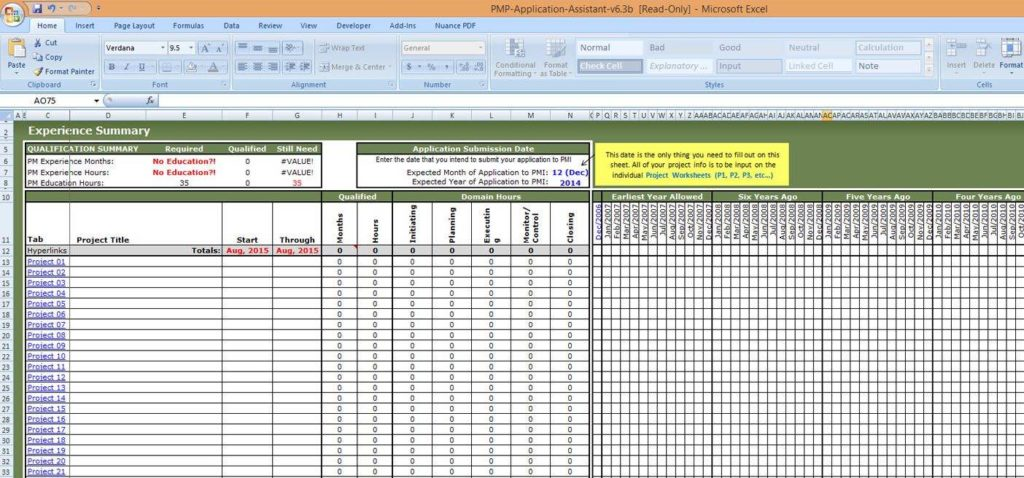 Task Management Templates and Project Task Tracking Spreadsheet