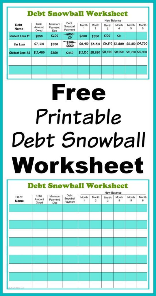 Free Budget Debt Reduction Spreadsheet and Squawkfox Debt Spreadsheet